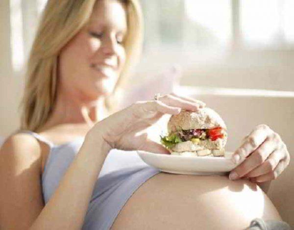 controlar el hambre durante el embarazo