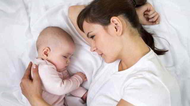dormir con el bebé