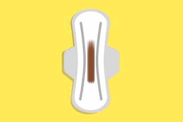 flujo marrón durante el embarazo
