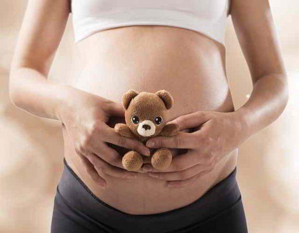 flujo marrón en el embarazo