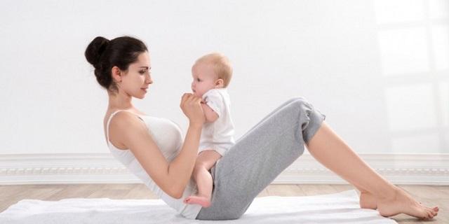 mejores ejercicios postparto
