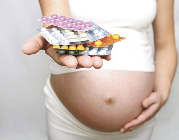 ¿Qué medicamento puede tomar una embarazada?