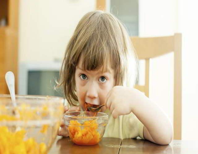 menú para niños de cuatro años