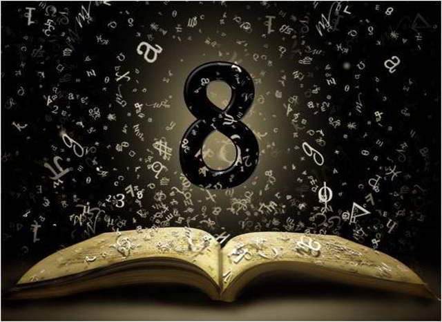 número 8 en la numerología