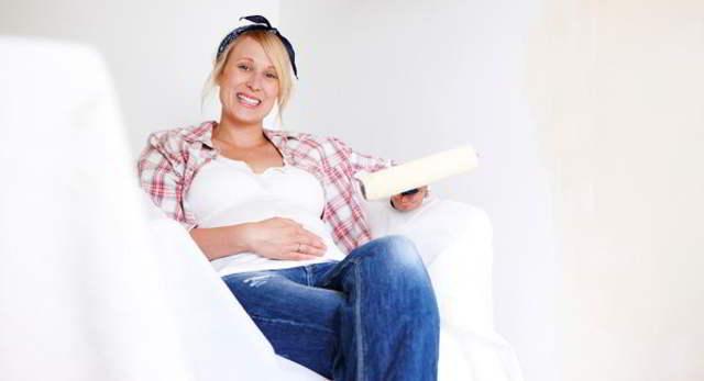 pintar durante el embarazo