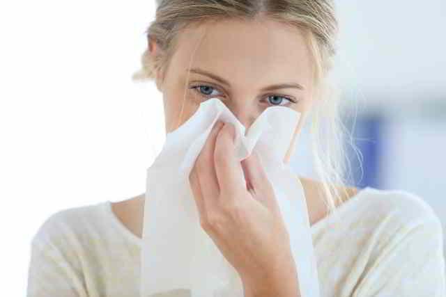 rinitis y congestión nasal en mujeres embarazadas