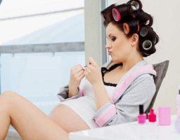 teñirse el pelo una embarazada