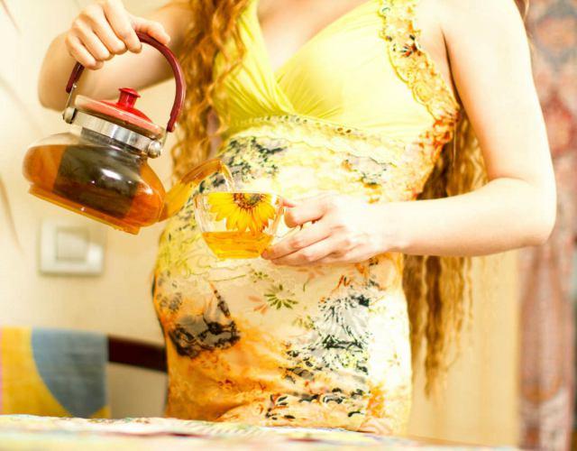 infusiones durante el embarazo