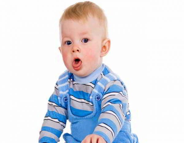 tos en bebés