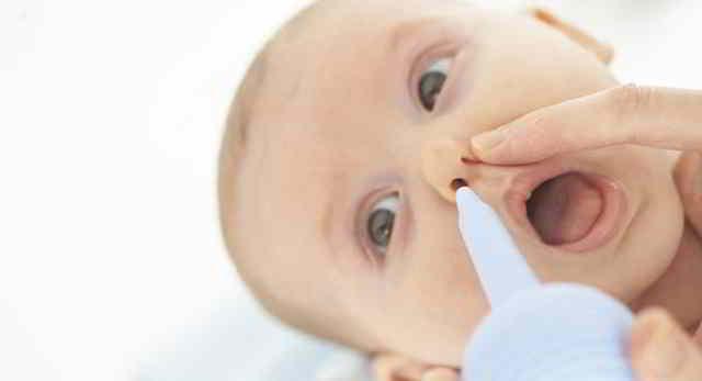 uso correcto del aspirador de mocos para bebés