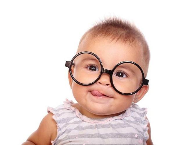 vista de los bebés
