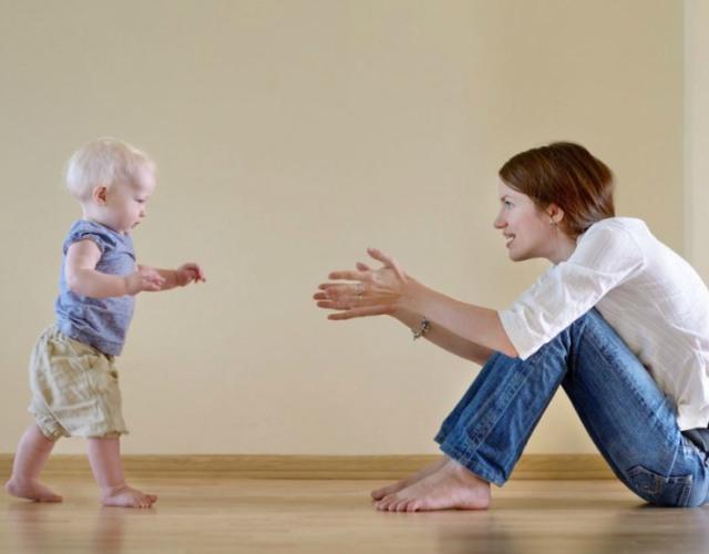 caminar del bebé