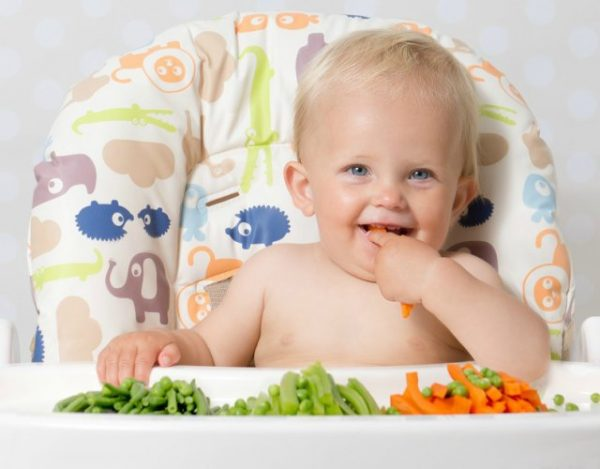 Alimentos sólidos de 8 a 10 meses