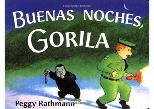 cuentos para dormir a un bebé Buenas noches gorila