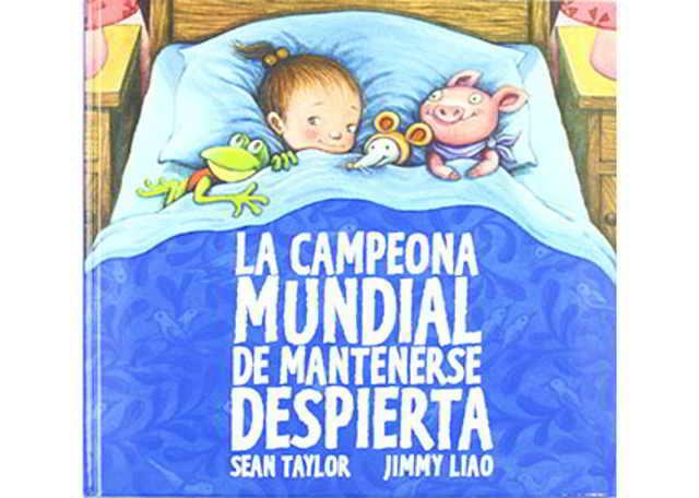 cuentos para dormir a un bebé La campeona mundial de mantenerse despierta