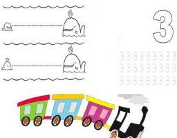 Fciahs de actividades para niños de 3 años
