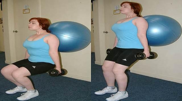 Ejercicios fitball durante el embarazo