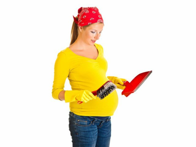 Tareas domésticas a evitar durante el embarazo