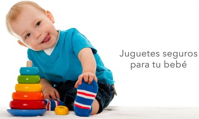 consejos de juguetes seguros para bebés