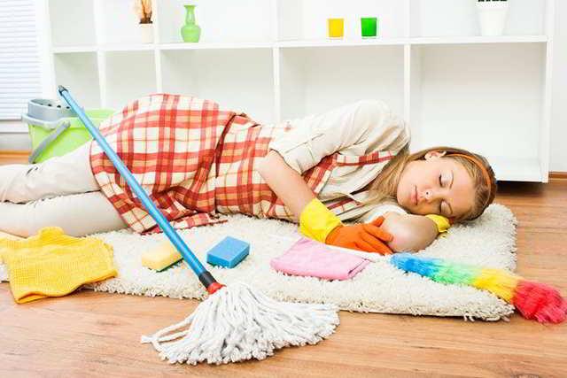 consejos para mamás agotadas y exhaustas