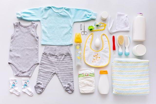 equipo esencial para las primeras seis semanas del bebé