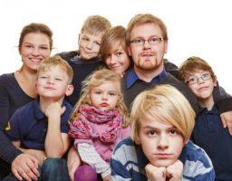 Discriminación por tener muchos hijos
