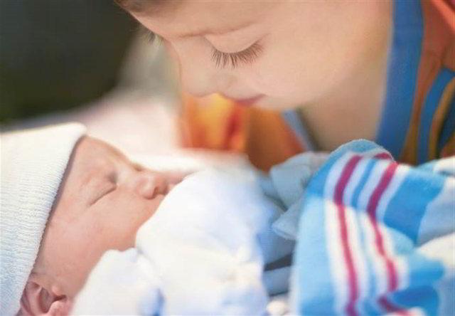 la primera noche con el bebé