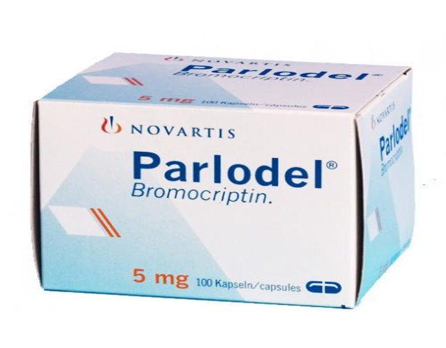 parlodel Bromocriptina