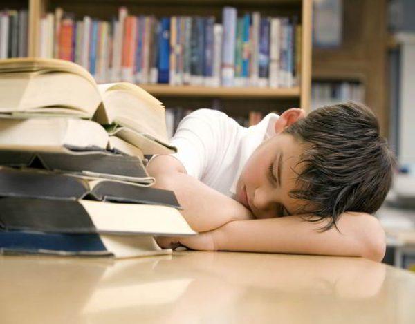 cansancio mental en los niños
