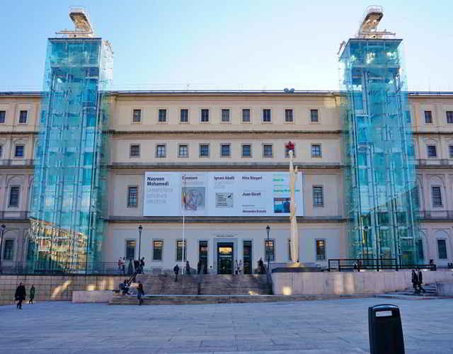 Museo Nacional del Centro Nacional Reina Sofía museos interesantes para niños en madrid