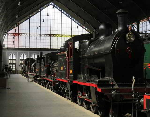 museo del ferrocarril en Madrid museos interesantes para niños en Madrid