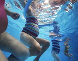 natación para embarazada