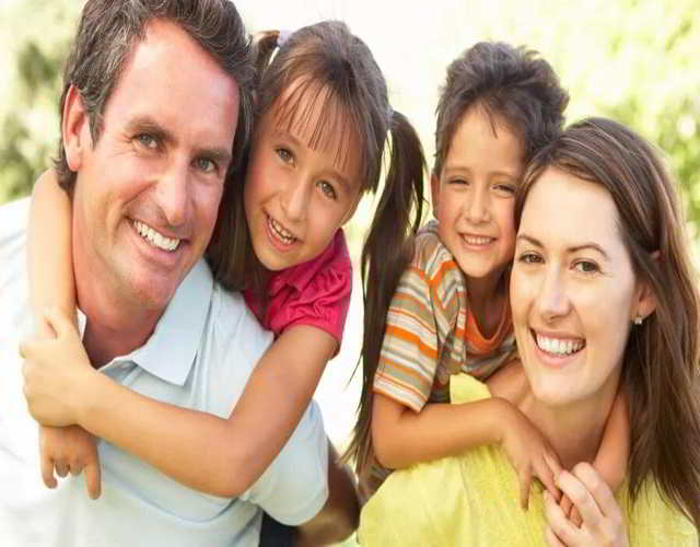 valor de la confianza en los niños y familia