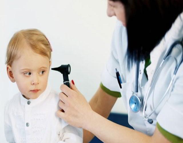 oidos tapados en infantes