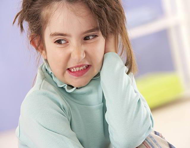 tímpano perforado en infantes