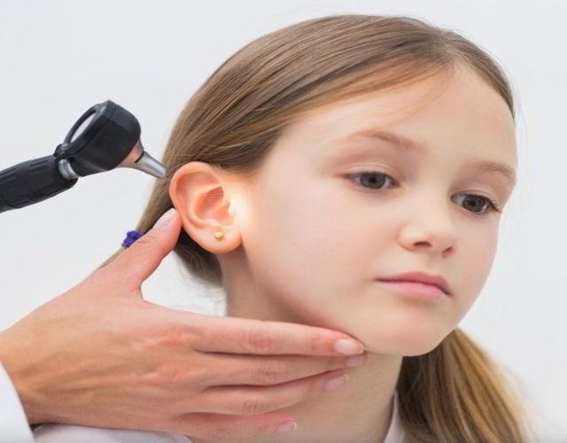 tímpano perforado en niños