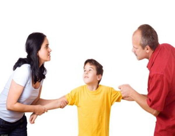 Desacuerdo entre los padres por la educación de los hijos 2
