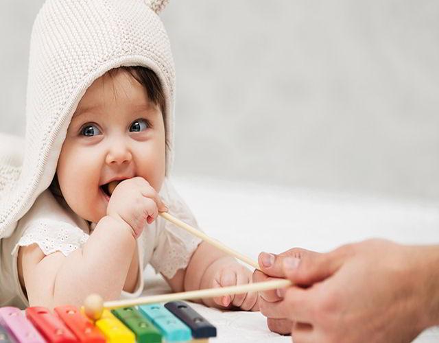 Estimular el aprendizaje del bebé 2