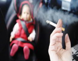 los efectos del tabaco sobre bebés y niños 2
