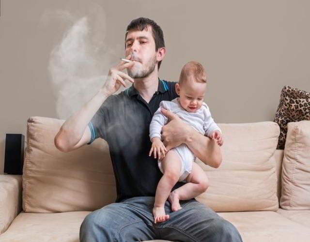 efectos del tabaco sobre bebés y niños son letales