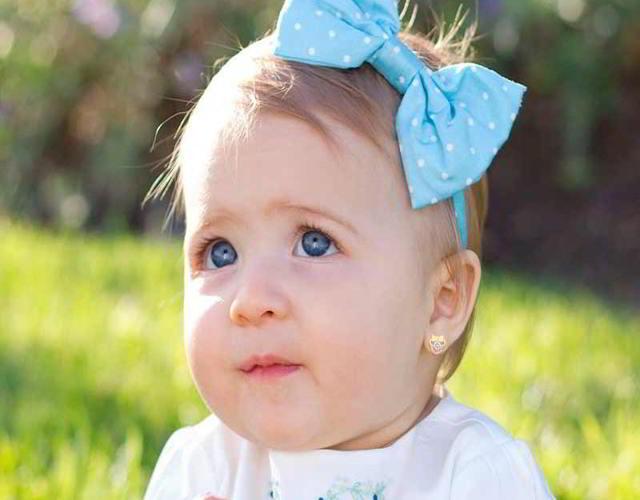 pendientes para bebés