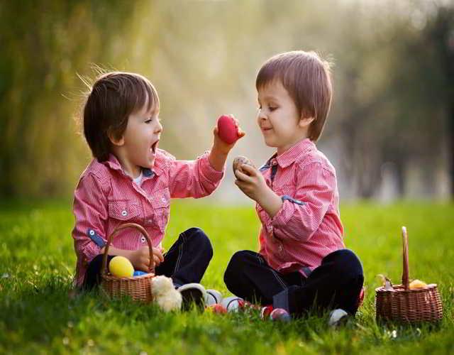 como enseñar generosidad a los niños