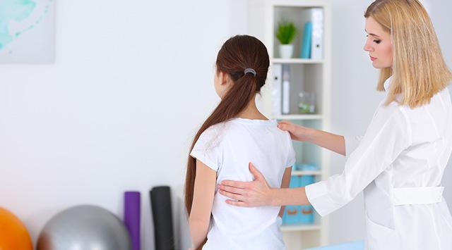 Problemas de espalda en niños