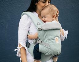 5 Beneficios de las mochilas portabebés