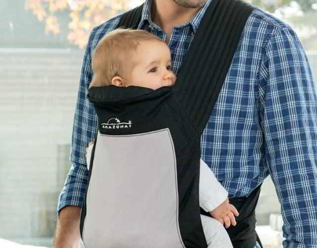 Cómo llevar al bebé en un mei tai