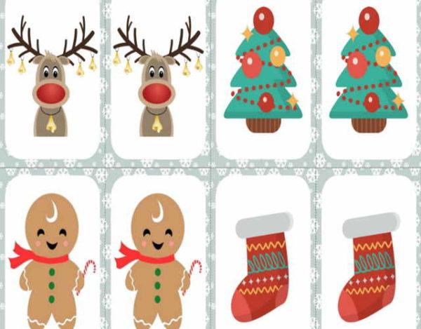Juegos de memoria para regalar en navidad 2