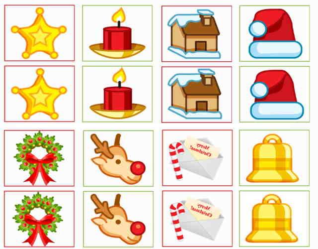 Juegos de memoria para regalar en navidad