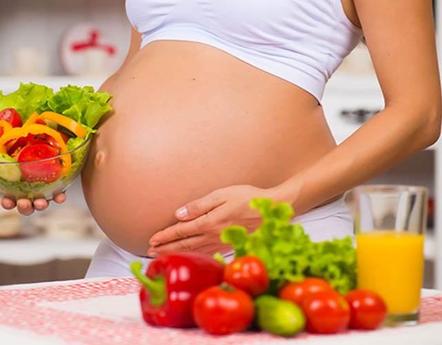 Picoteo sanos durante el embarazo