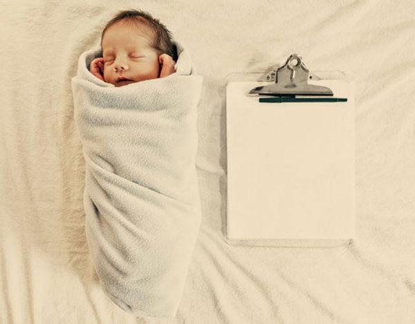 Trámites burocráticos del recién nacido