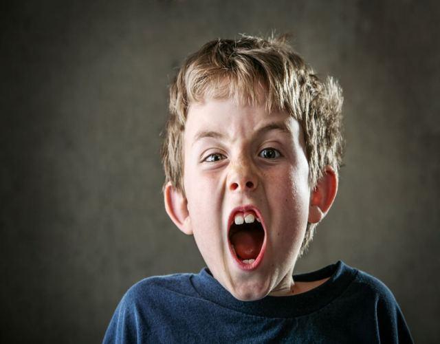 manejar los gritos de los niños
